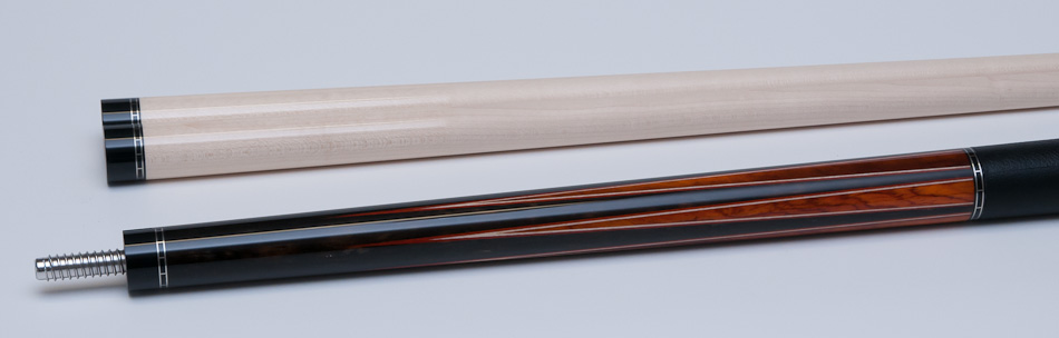 Jon S Ebony And Cocobolo Cue Bcm Cues