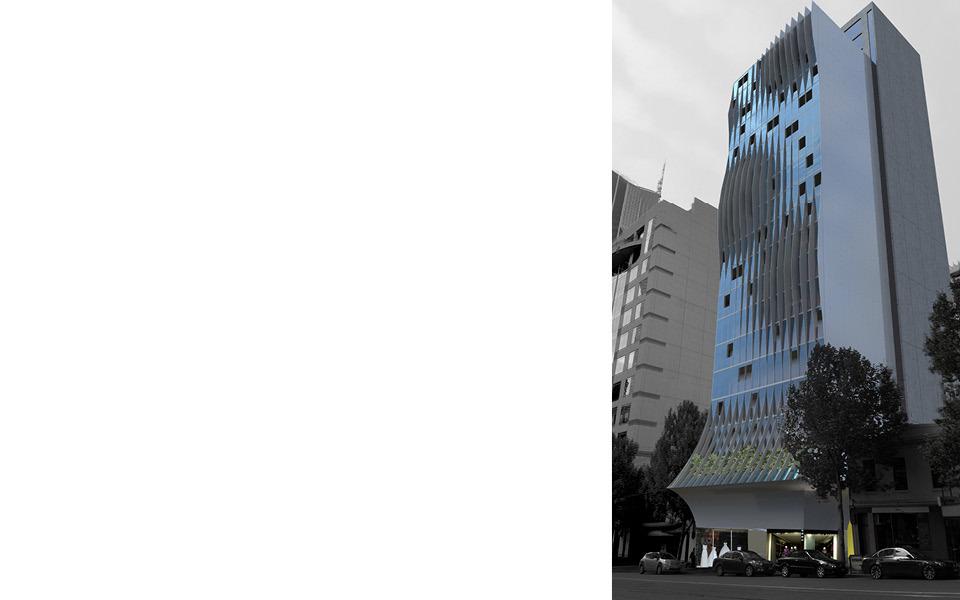 CBD   La Trobe Tower   323 La Trobe Street   137m   43L   Residential