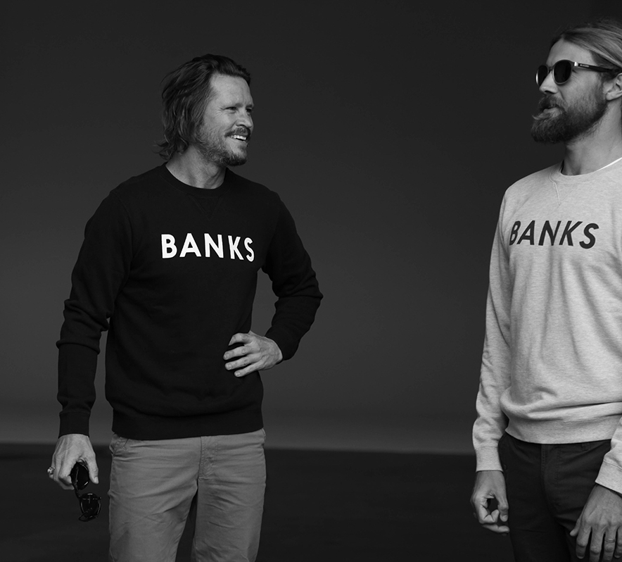 Sea Sick Surf - Banks founders Brad Gerlach and Chris Del Moro