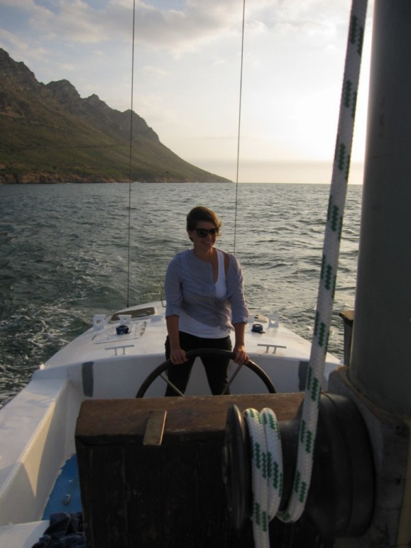 into False Bay after 12 months