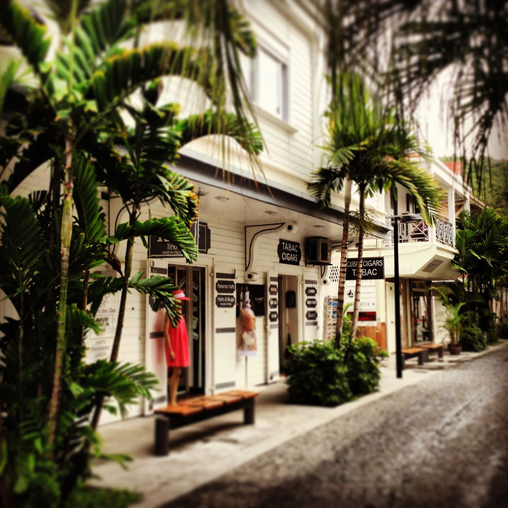 Boutiques in Gustavia