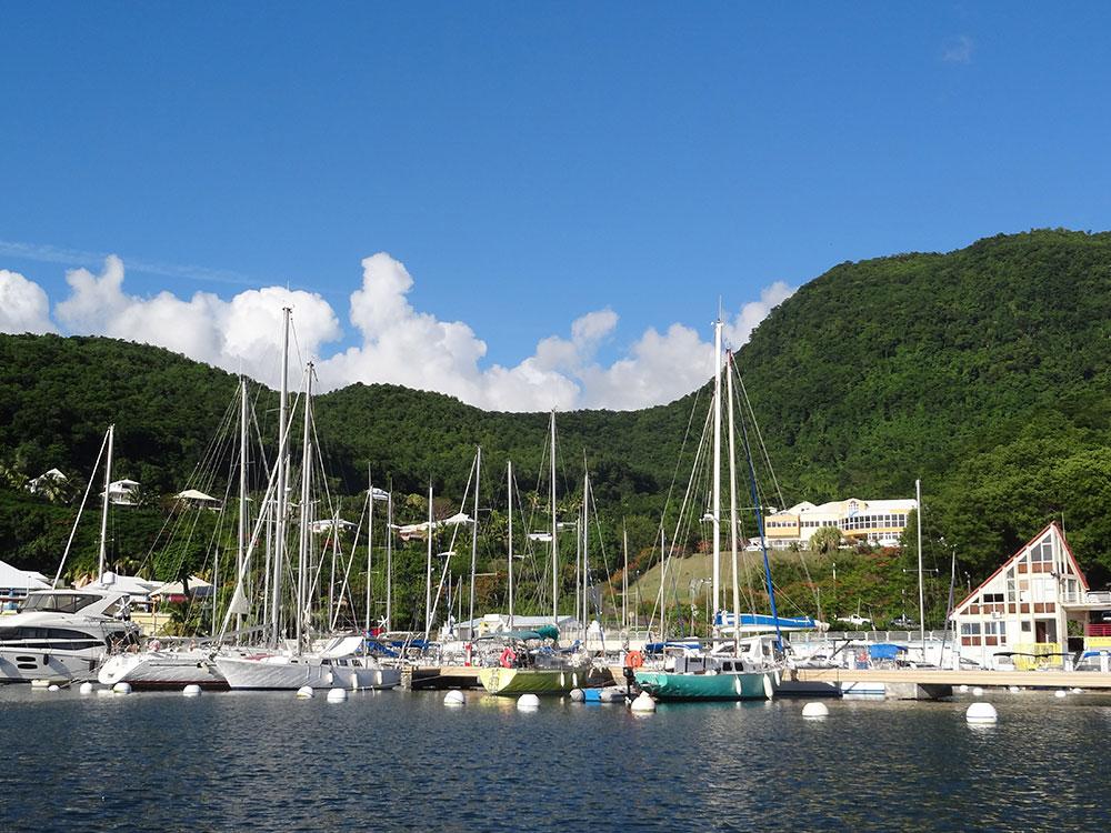Marina de Riviere Sens in BasseTerre