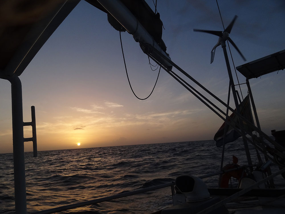 Nothing like a sunset at sea