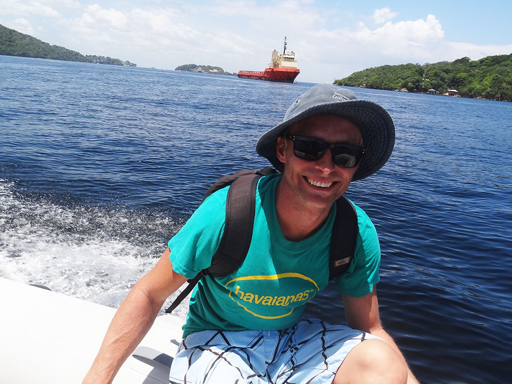 Dinghy touring