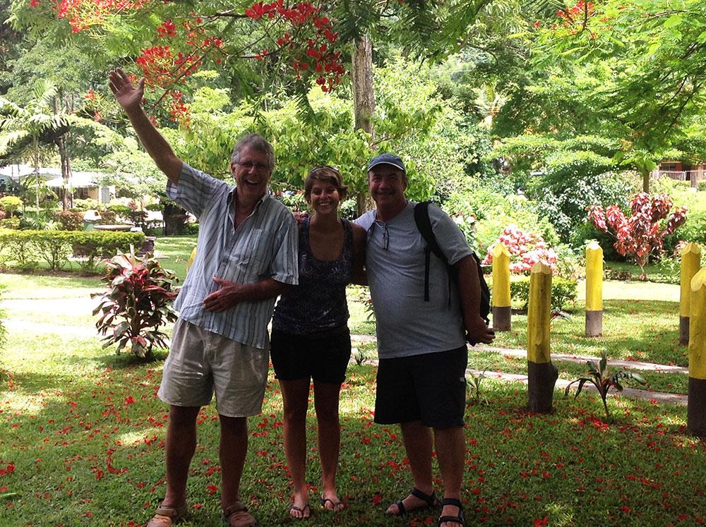 Peter, myself and Ken