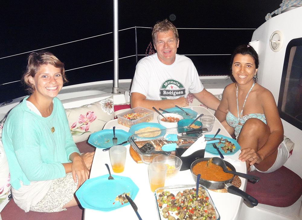 Me, Peter and Dora on Onda Boa