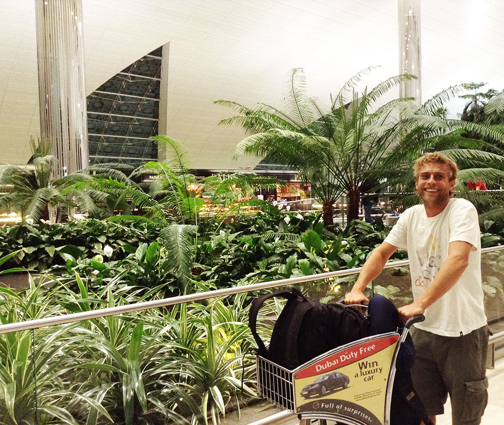 Pit stop in Dubai