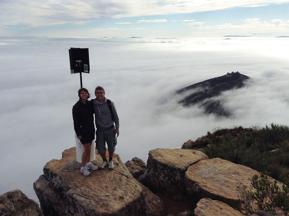Above the clouds on Lions Head