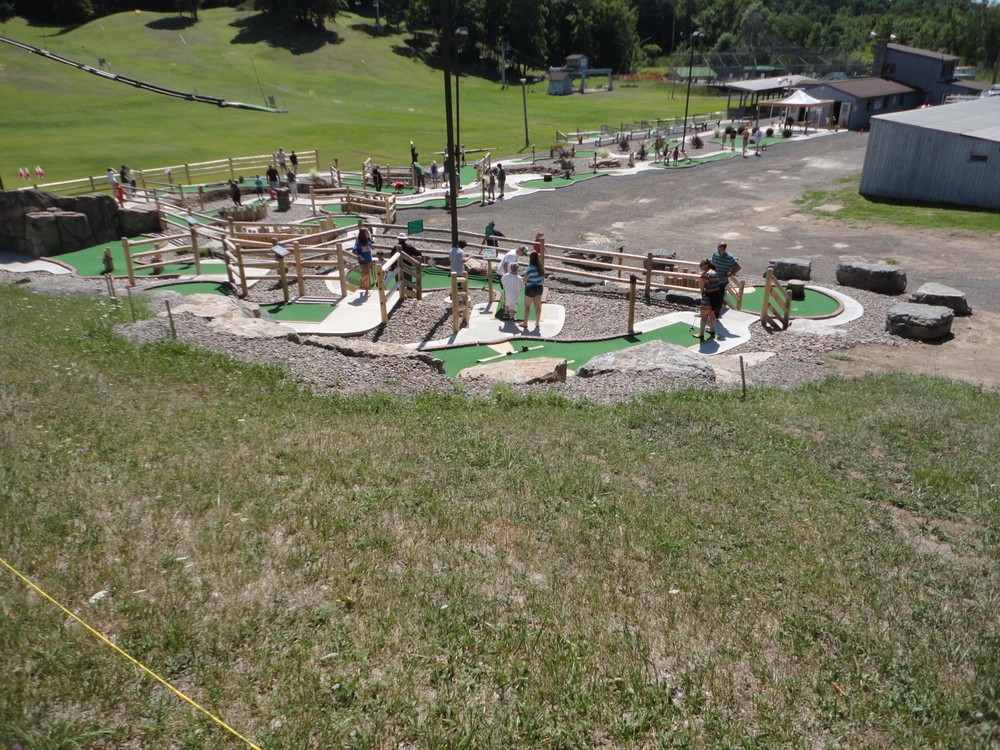 Have an Adventure Mini-Golf Party for your kids or groups!