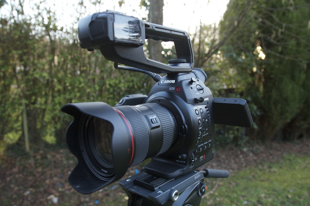 The logical step up from DSLR filming.
