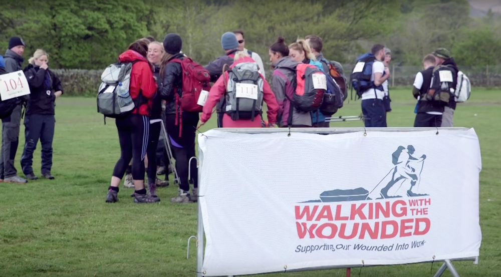 The 'Cumbrian challenge' had participants walking (and some running!) over 20 miles