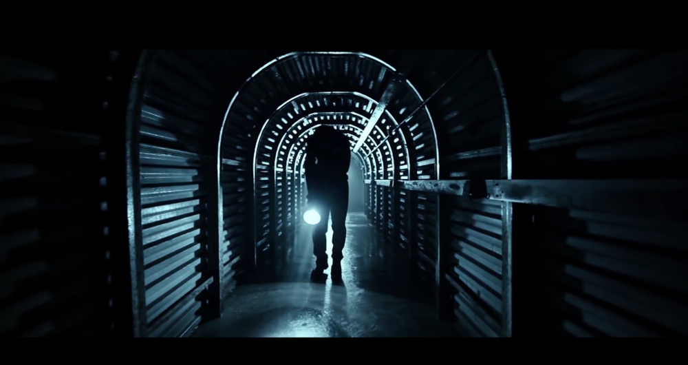 This shot from the film Twenty Twenty Four shows nothing but hard light. Both the character's torch and the light hidden behind him further down the tunnel are hard sources, resulting in a punchy and dramatic image. What's more, the fact that the light down the tunnel is further away from the subject has made it smaller in relation to him so the shadows are even harder. Soft light just wouldn't have cut it here.  To see the trailer click here.