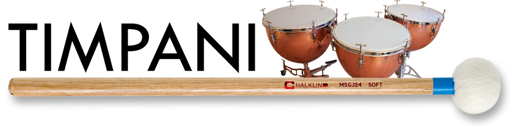 Click here to view our wide and varied range of quality, hand made Timpani mallets. Featuring the MS, BS & ME ranges