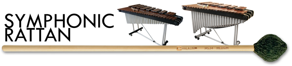 A huge selection of Rattan handle mallets for use with Glock, Xylo, Vibes and Marimba featuring the MS range