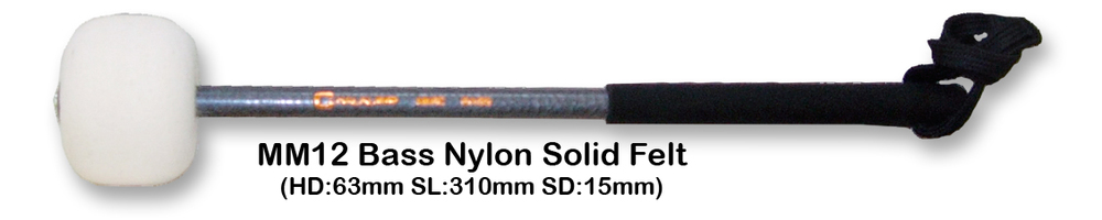MM12 BASS NYLON SOLID FELT