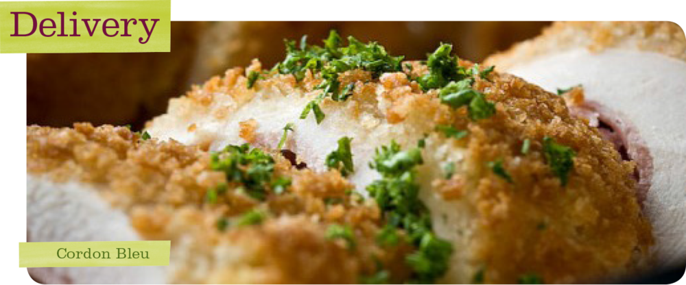 Upstream Catering Chicken Cordon Bleu