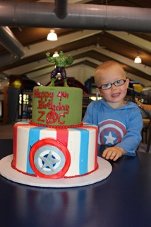 Upstream Catering Specialty Cake for Zac's 4th Birthday!