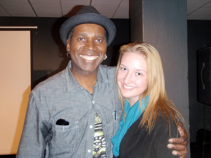 Living Colours lead man, Vernon Reid