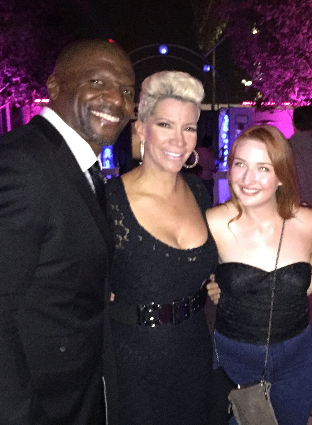Terry Crews & Rebecca Crews