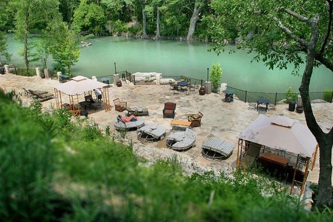 Weekend getaway the hideout on the horseshoe new for Cabins near whitewater amphitheater