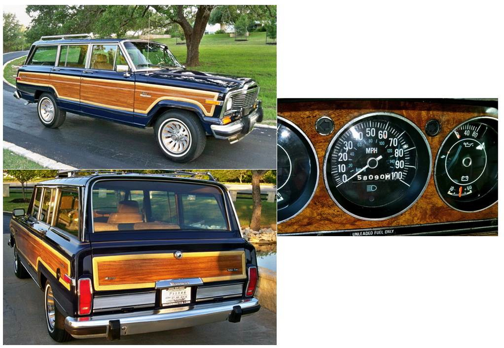 Restored Classic Jeep Grand Wagoneers By The Wagonmaster