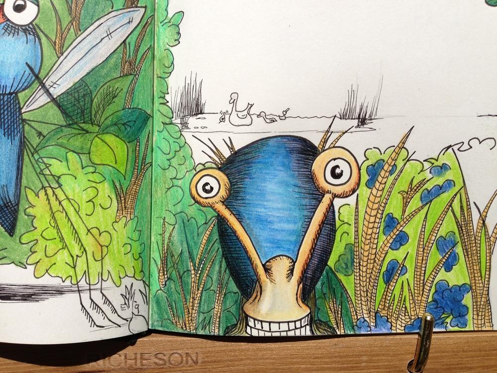 Rachel Winner: Zip & Zap children's book snail character