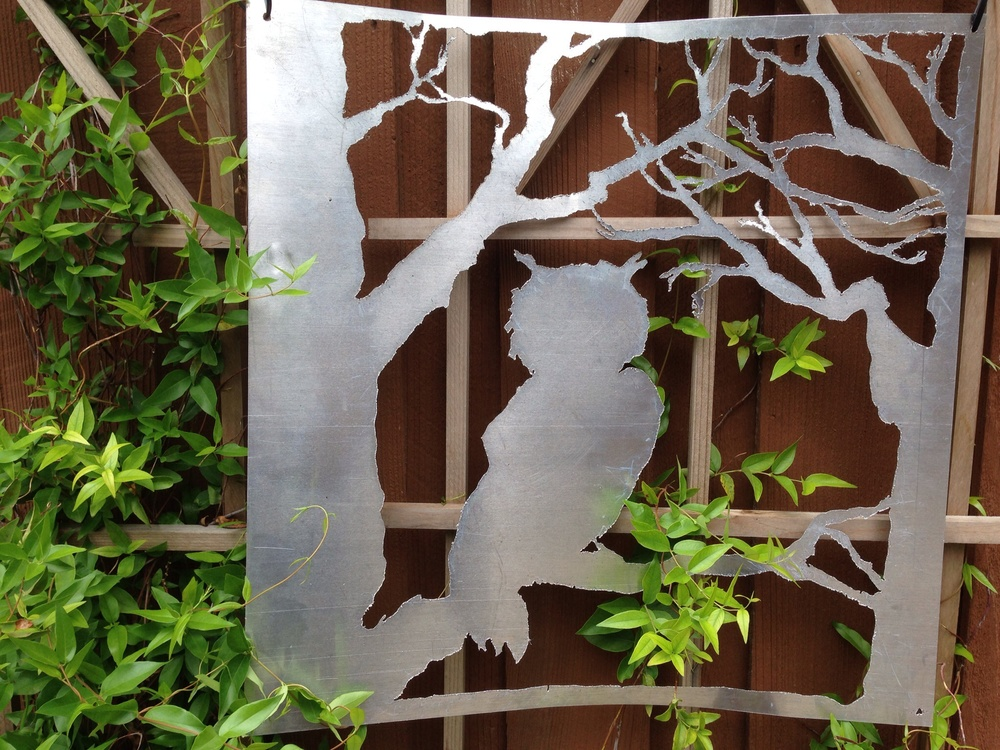Owl metalwork using a Hobart 501i Plasma Cutter