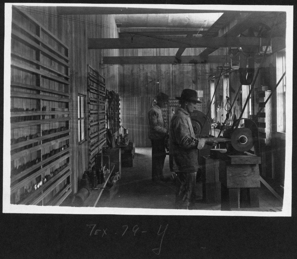 Tex79 Filing Shop Interior