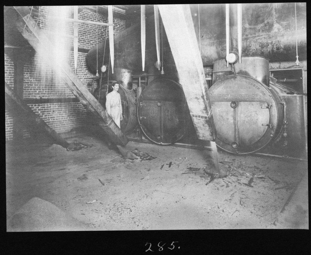S. P. 285 Hardwood Mill Boiler Room