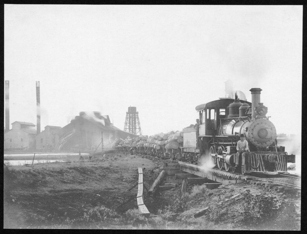 S.P. 343 TSE Engine 7 at mill 1907