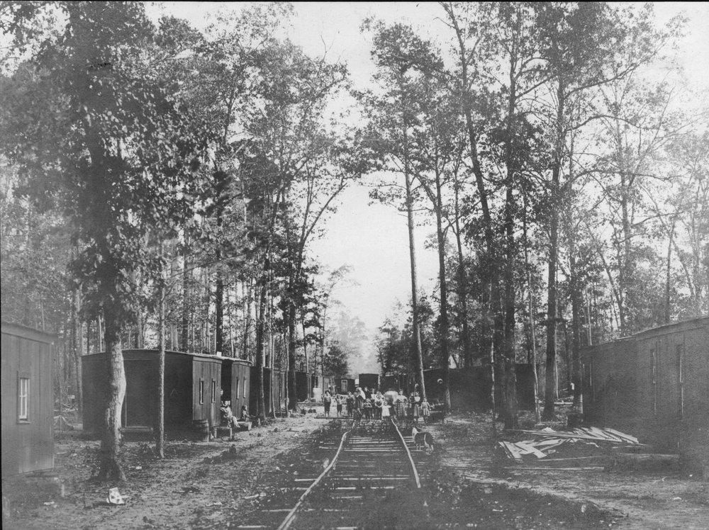 S.P. 306 logging camp No. 1