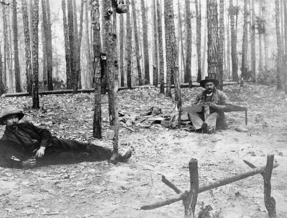 Tex 118-W camp photo 1903