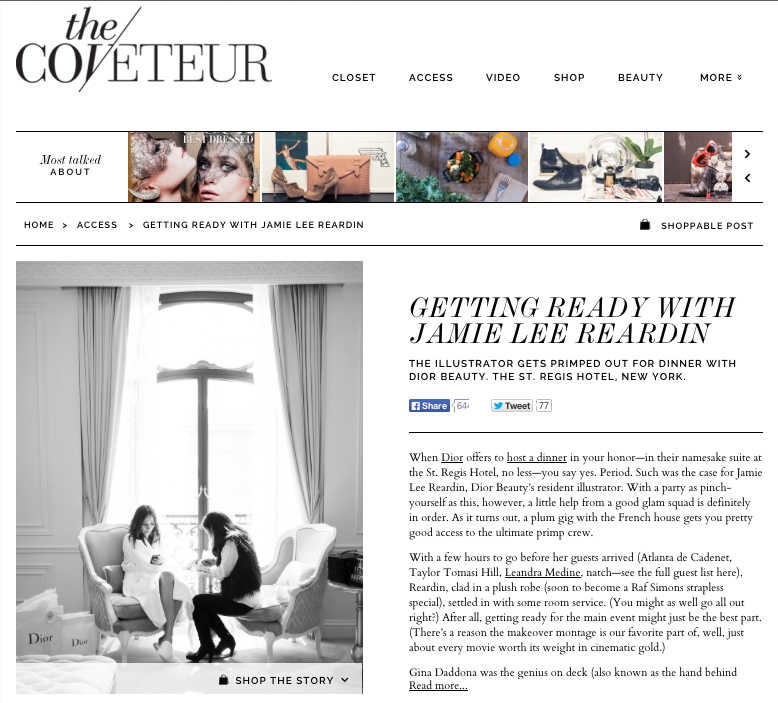 The Coveteur Part One