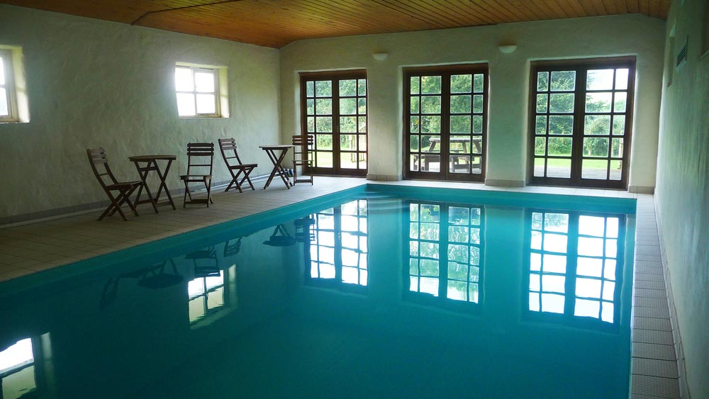 The Pool at Bonhays Meditation and Retreats Centre