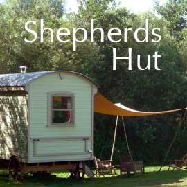 Bonhays shepherds hut accommodation