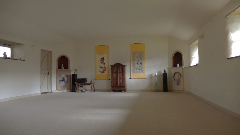 The Group Room at Bonhays Meditation and Retreats Centre