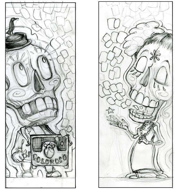 "concept sketch for ""Doloroso"""