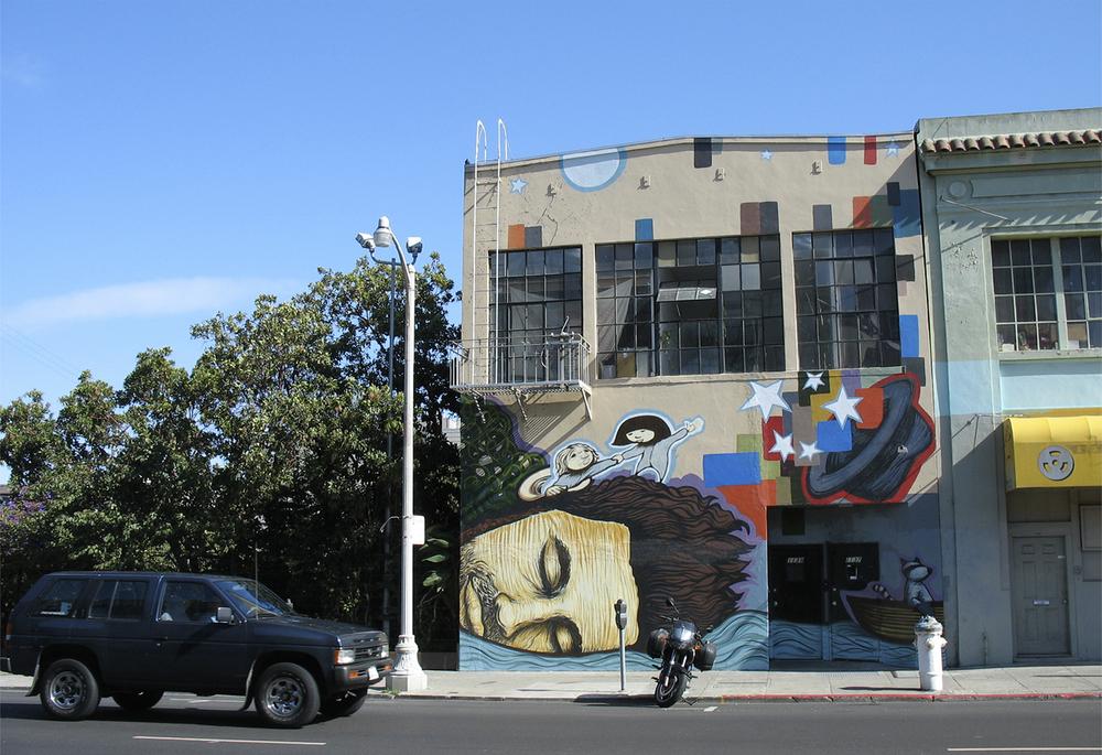 California Stars of W. Guthrie Mural