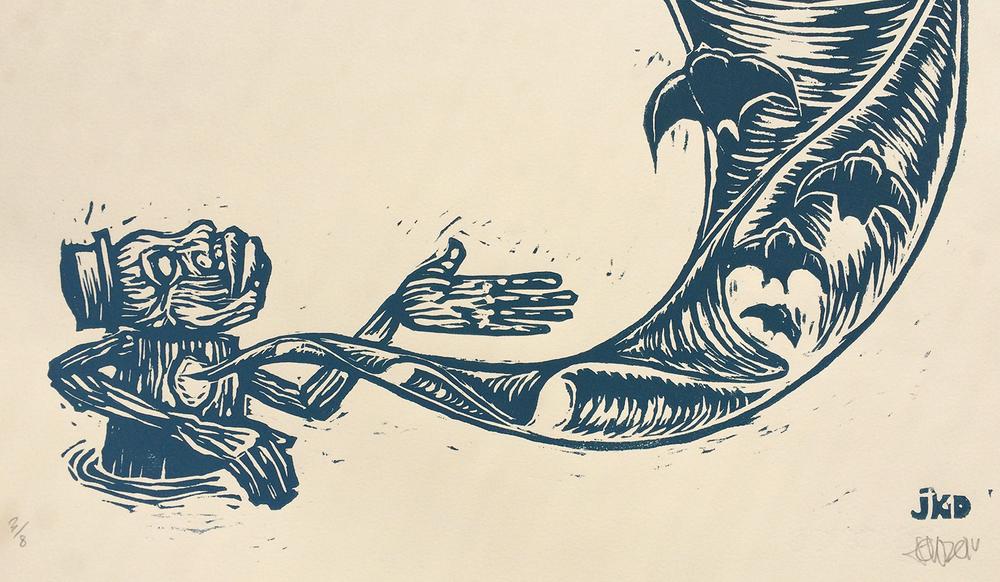 water based ink, MDF cut
