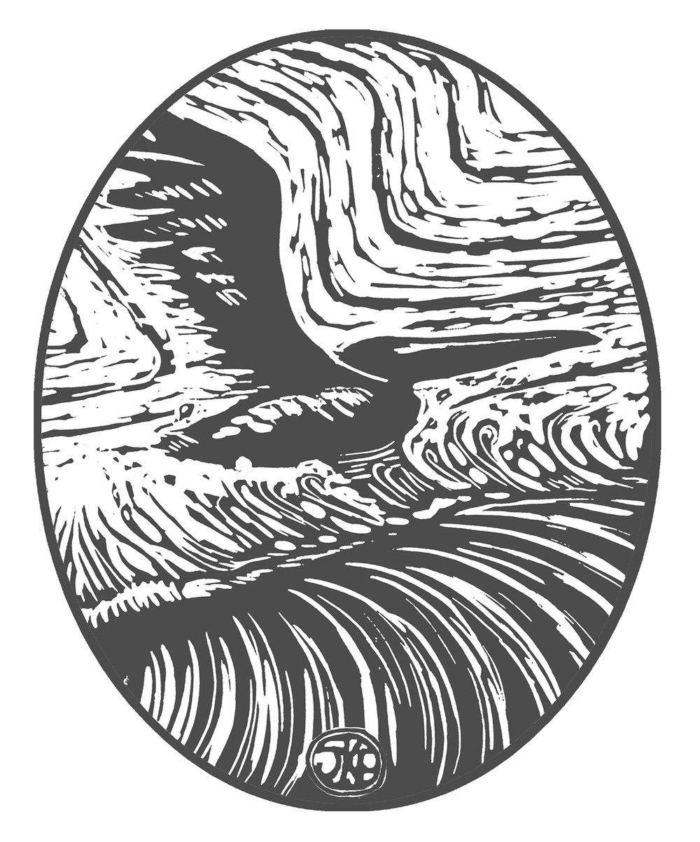 Logo - surfboard lam