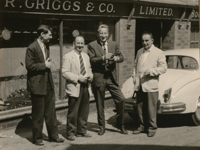 Dr. Maertens outside Griggs & Co.