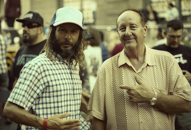 Tony Alva & Paul Van Doren photo credit: Matt Devino