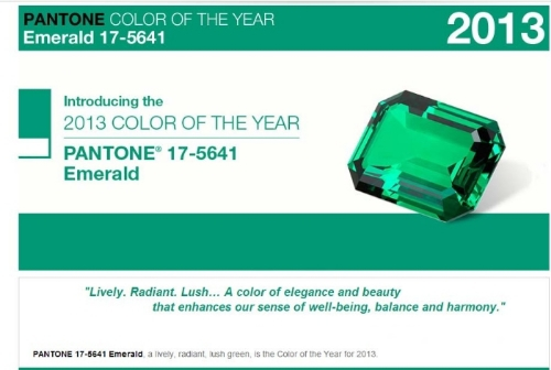 Rich, radiant Emerald