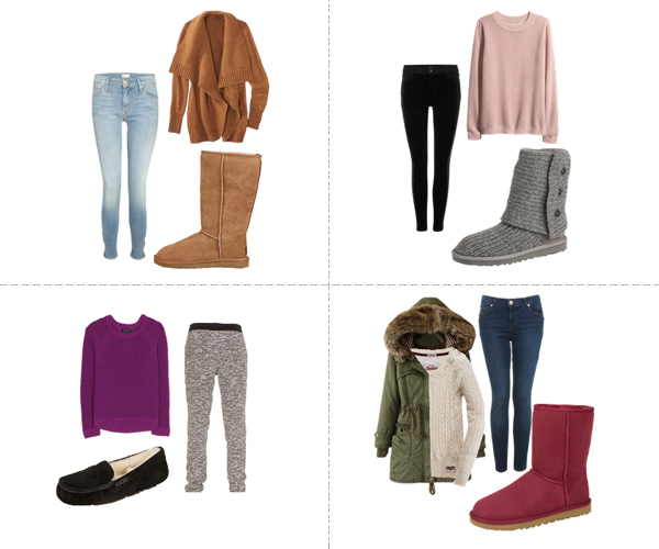 cute outfits to wear with uggs