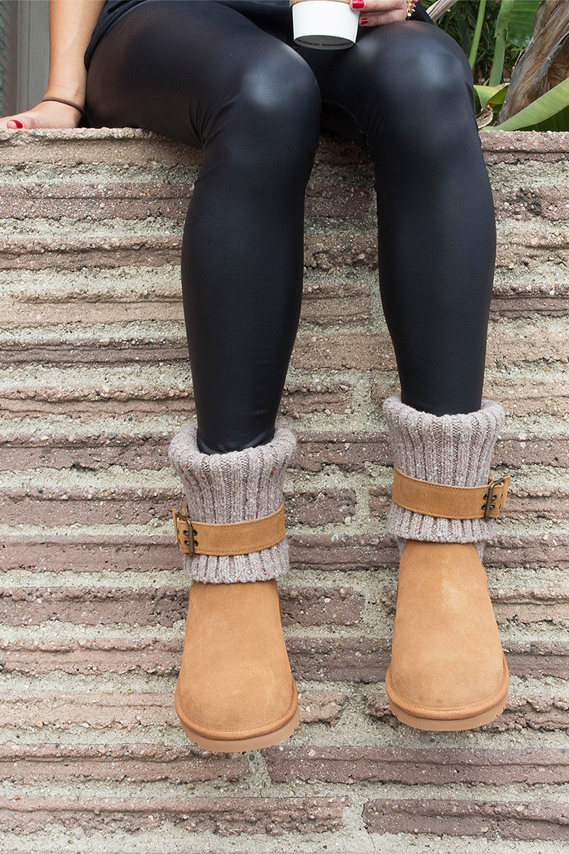 How To Wear Legwear Amp Ugg Boots Beyond The Box