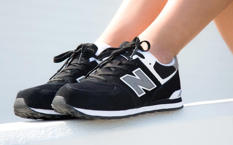 Shoes:  New Balance 574 Core Black