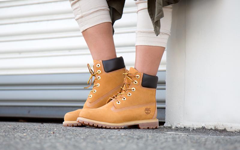 Boots: Timberland Premium Wheat