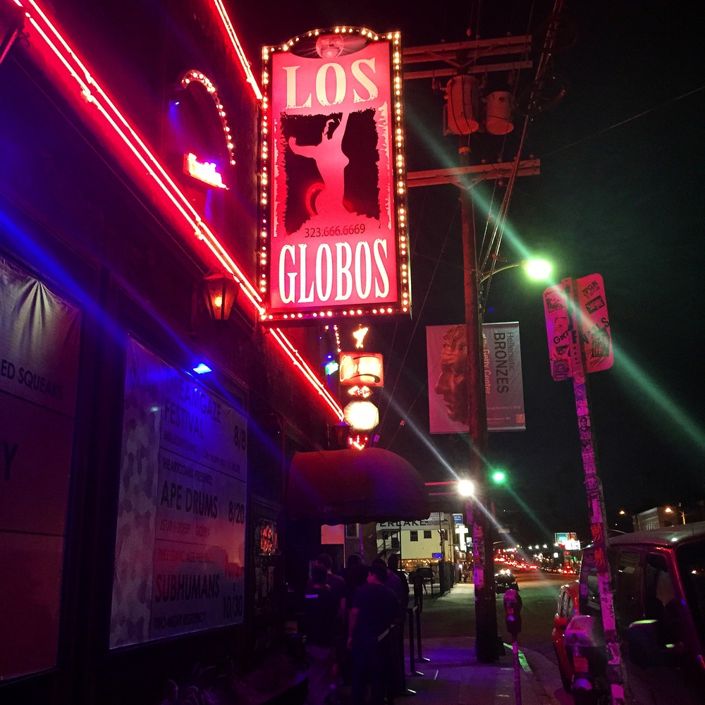 Los Globos in Echo Park, California