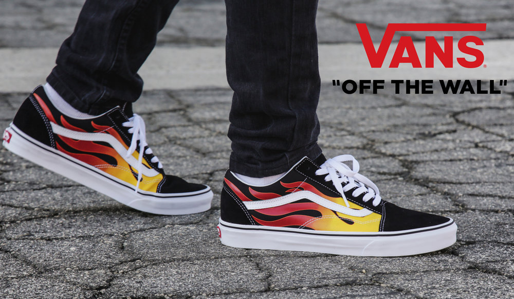 6a835be990 Vans Flame collection brings the heat! — RW Beyond The Box