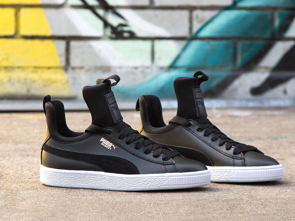 1 - Puma Basket Fierce reaches for new heights with this brave new silhouette.